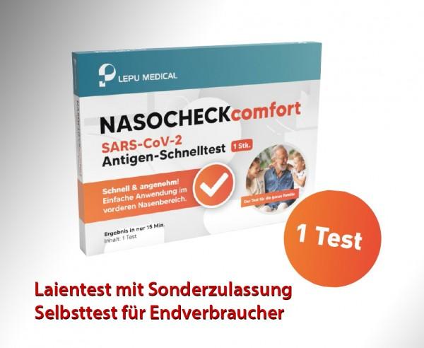 Lepu - 1er Aktion2-Antigen-Nasenbohrertest (Laienzulassung) (einzeln) - AKTION2